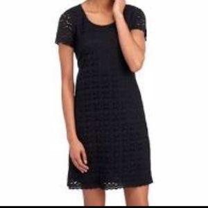 NWT! Ronni Nicole Black Lace Lined Shift Dress